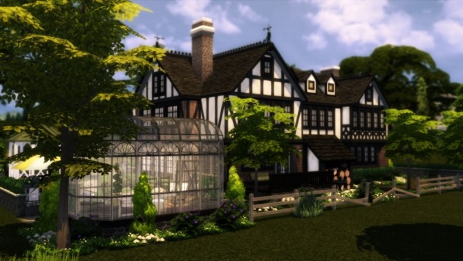 Tudor Mansion at dw62801 image 10122 670x377 Sims 4 Updates
