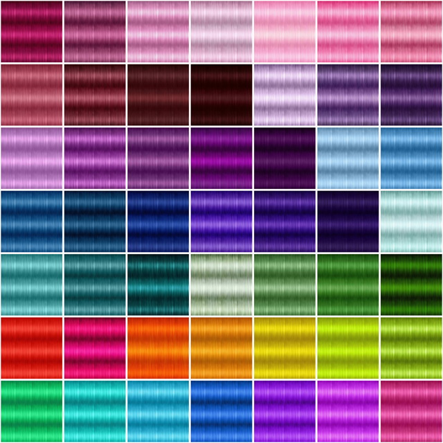 Textures For Retextured Hair Sims 4 251 Colors At Jenni