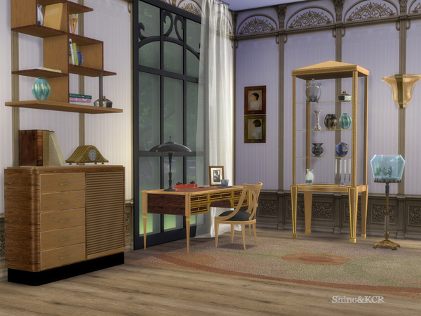 Art Deco Home Office By Shinokcr At Tsr