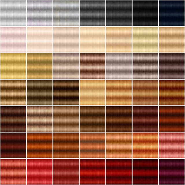 Textures for retextured hair Sims 4 ( 251 colors) at Jenni Sims image 1022 Sims 4 Updates