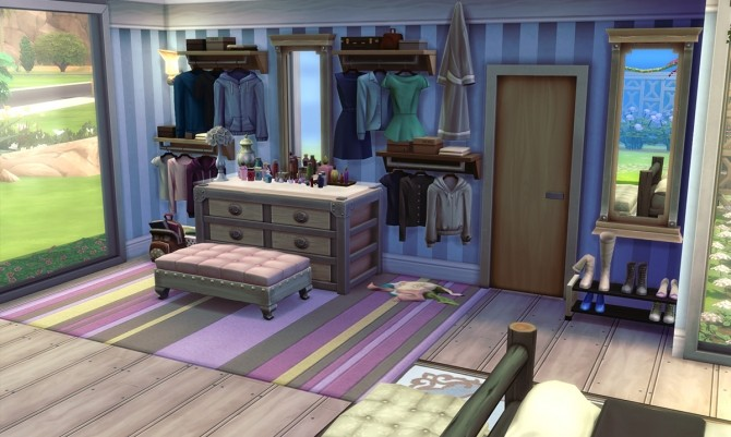 Sims 4 Apis Mellifera house by Alrunia at Mod The Sims