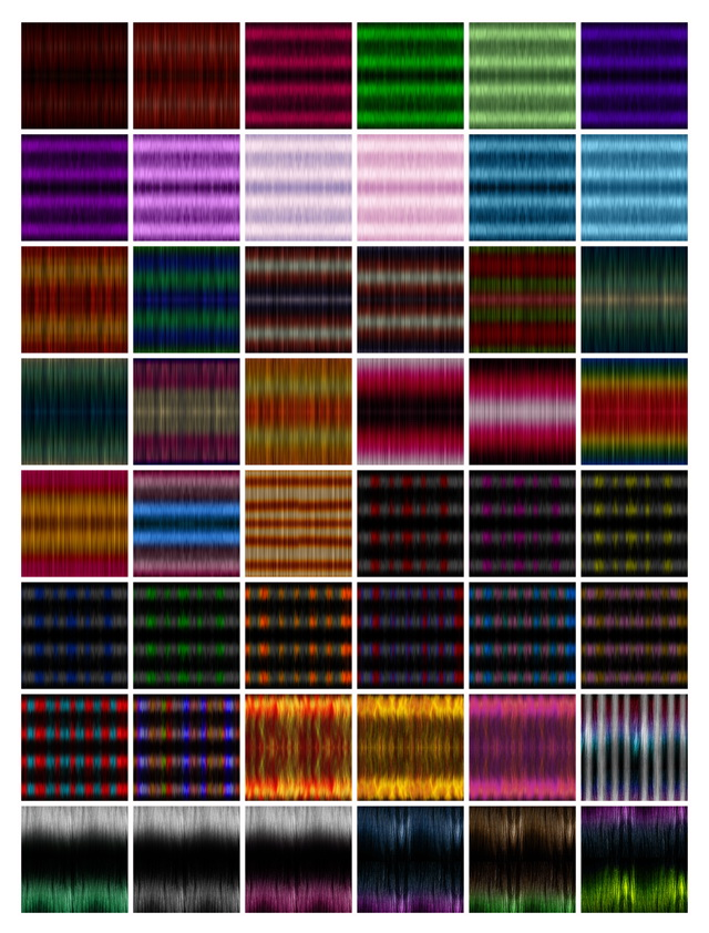 Textures for retextured hair Sims 4 ( 251 colors) at Jenni Sims image 1042 Sims 4 Updates