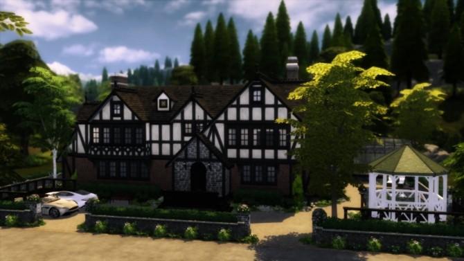 Tudor Mansion at dw62801 image 10518 670x377 Sims 4 Updates