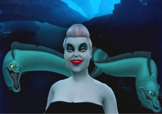 Ursula The Sea Witch By Simgazer At Mod The Sims 187 Sims 4