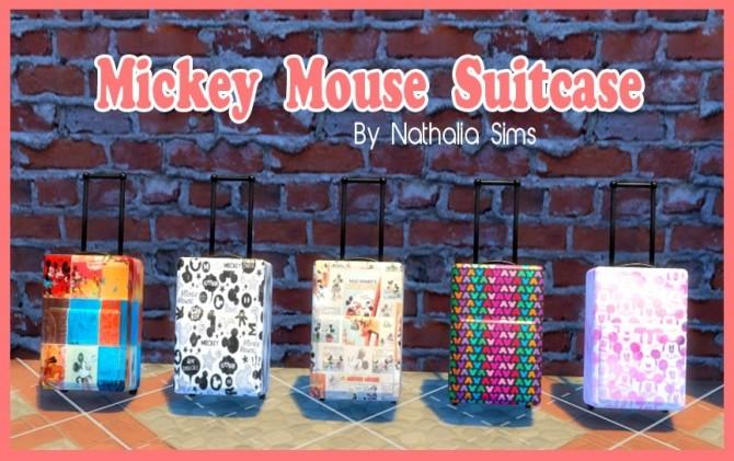 Sims 4 Michey Suitcase at Nathalia Sims