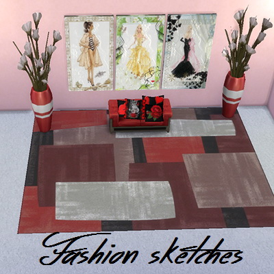 Fashion sketches at Trudie55 image 1077 Sims 4 Updates