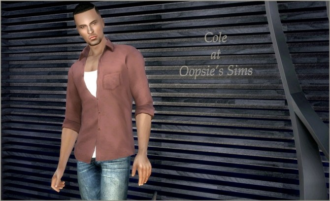 Sims 4 Cole at Oopsie's Sims