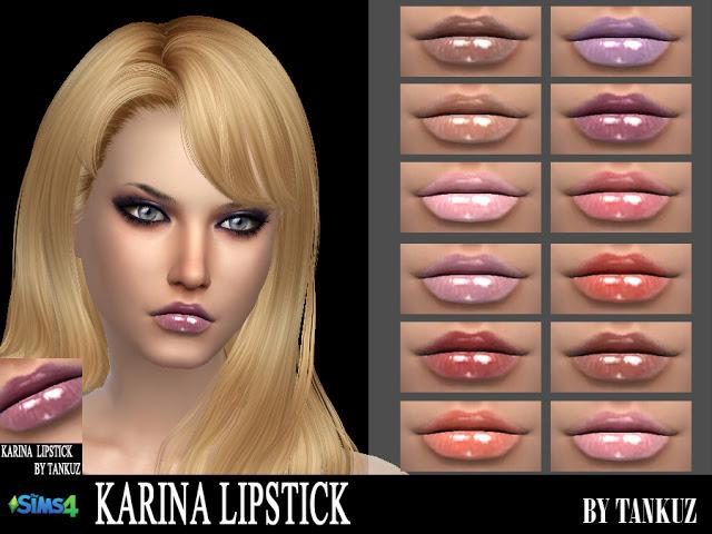 Karina Lipstick at Tankuz Sims4 image 1109 Sims 4 Updates