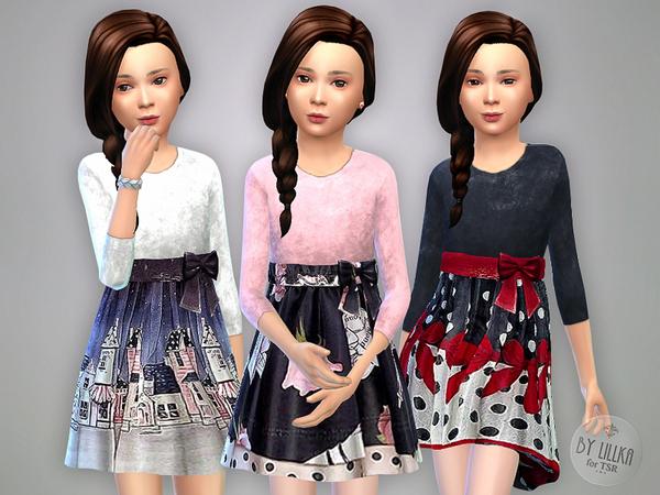 Winter Dress by lillka at TSR image 1114 Sims 4 Updates