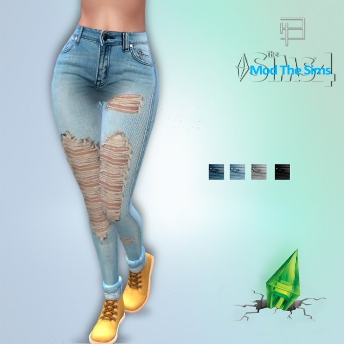 Jeans And Shirts At Brolyhd 187 Sims 4 Updates