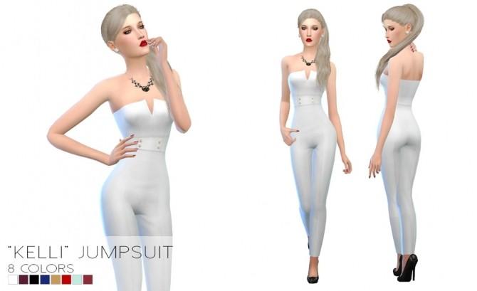 Sims 4 Kelli Jumpsuit at Porcelain Warehouse