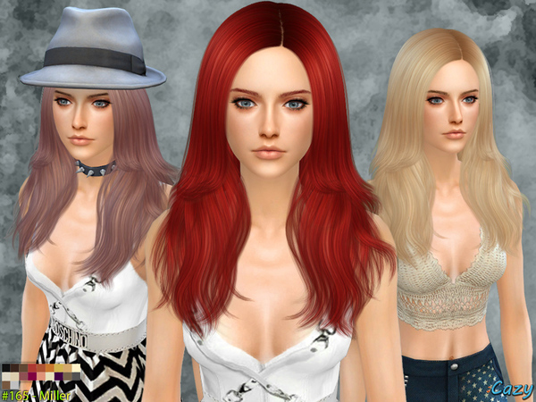 Miller Female Hair by Cazy at TSR image 1150 Sims 4 Updates