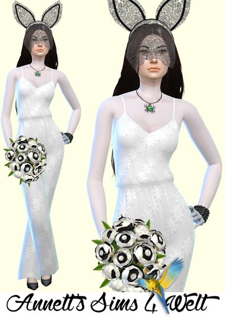 Wedding Jumpsuit Part 3 at Annett's Sims 4 Welt image 1195 Sims 4 Updates