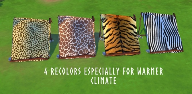Sims 4 PREHISTORIC LEAN TO at Historical Sims Life