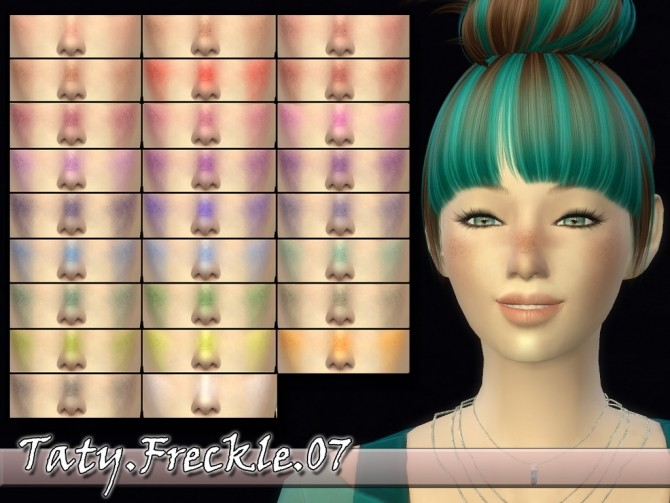 Sims 4 Freckle 07 by Taty86 at SimsWorkshop