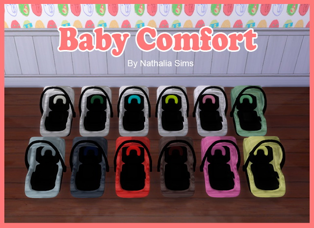 Baby Comfort and Carriage at Nathalia Sims image 12107 Sims 4 Updates