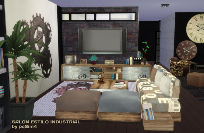Industrial Living At Pqsims4 187 Sims 4 Updates
