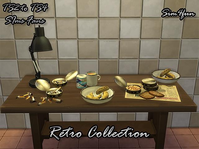 Sims 4 Retro Collection Mini Set by Sim4fun at SimsWorkshop