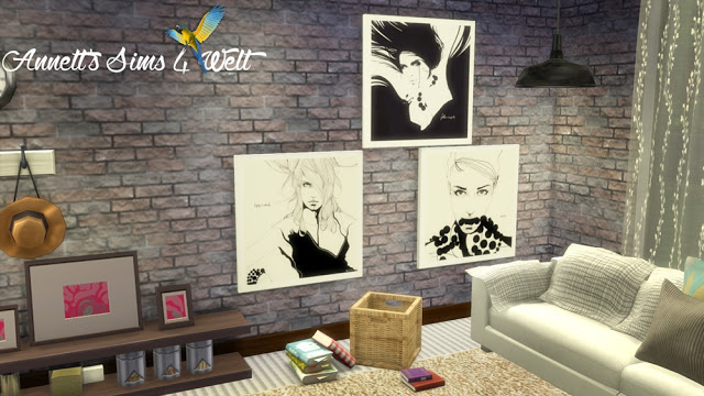 Manuel Rebollo Paintings at Annett's Sims 4 Welt image 1272 Sims 4 Updates