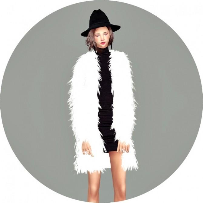 Acc Female Long Fur Jacket Bracelet At Marigold 187 Sims 4