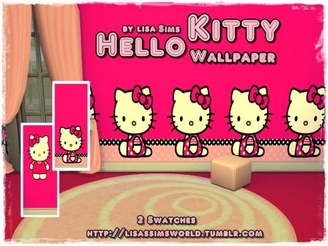 Sims 4 Kitty Wallpaper at Lisa Sims