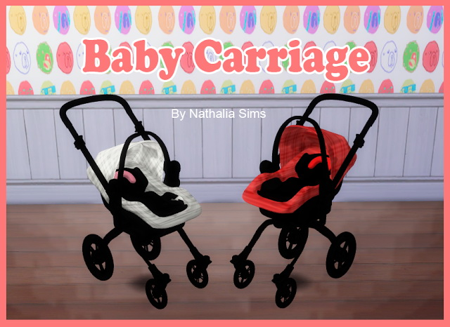 Sims 4 Baby Comfort and Carriage at Nathalia Sims