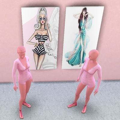Fashion House paintings at Trudie55 image 1335 Sims 4 Updates