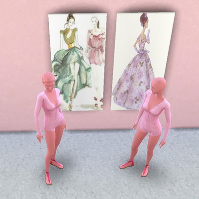 Fashion House paintings at Trudie55 image 1356 Sims 4 Updates