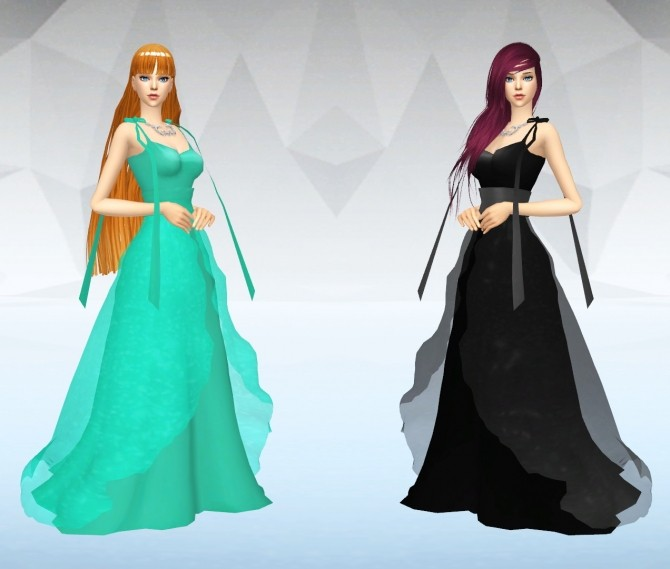 Princess Venus Dress At Silvermoon Sims 187 Sims 4 Updates