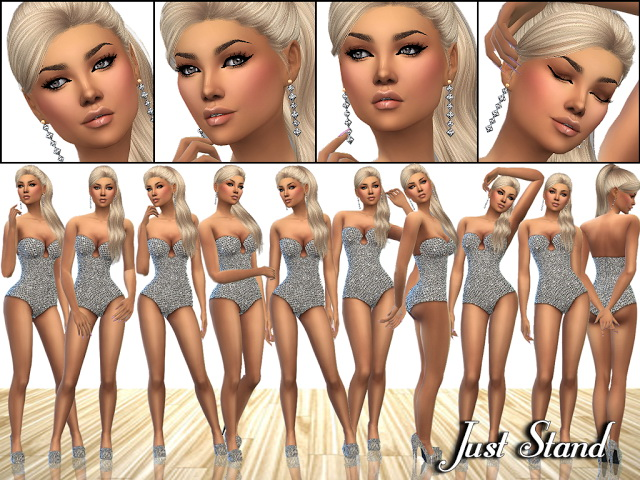 Sims 4 MP Just Stand Pose Set at BTB Sims – MartyP