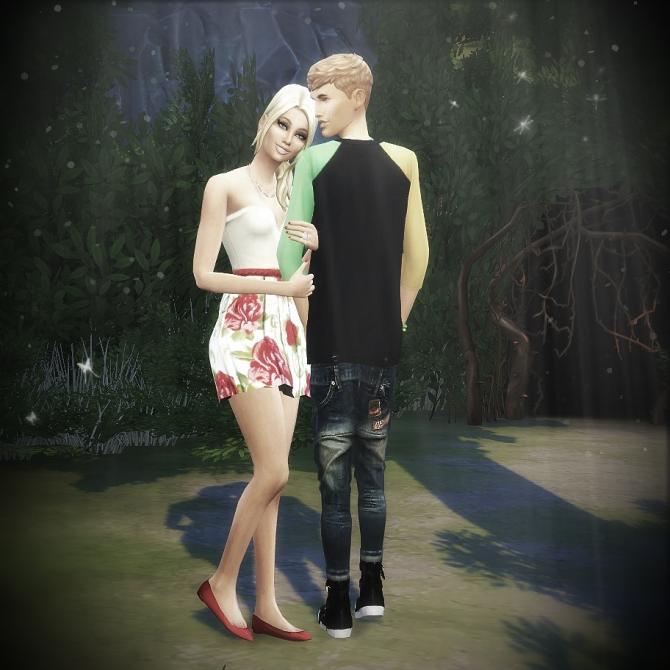 Couple Pose Set At Randomchick32 » Sims 4 Updates