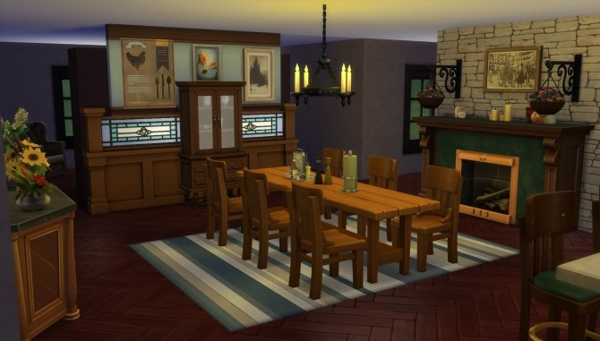 Single level Ranch home by EmpathLunabella at Mod The Sims image 139 670x381 Sims 4 Updates