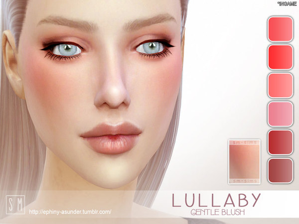 Sims 4 Lullaby Gentle Blush by Screaming Mustard at TSR