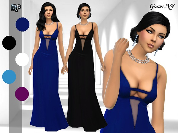 MP Gown N4 at BTB Sims – MartyP image 1418 Sims 4 Updates