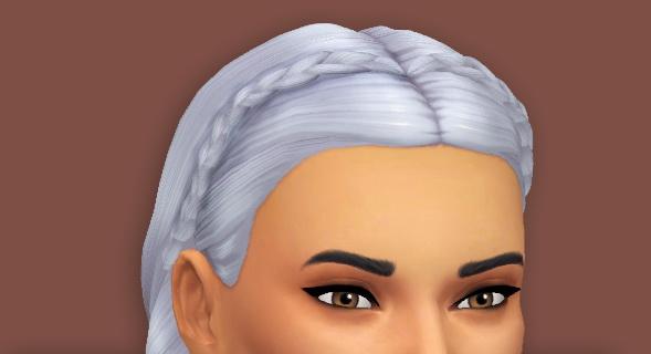 kim braids at Primadonna Sims image 1461 Sims 4 Updates