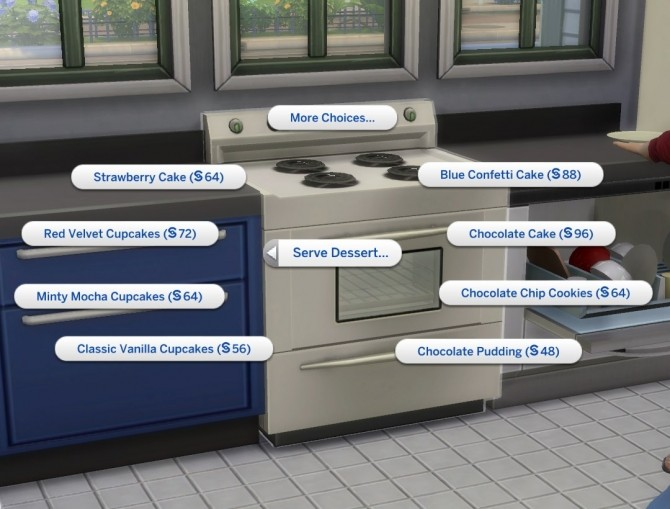 Sims 4 Make Cupcakes in Oven by plasticbox at Mod The Sims