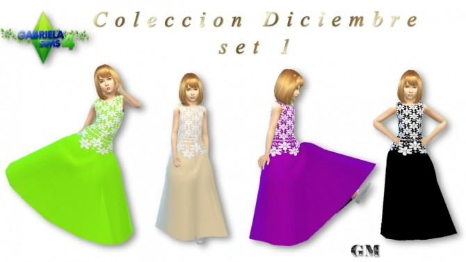 Sims 4 Clothing collections at Gabriela Sims 4