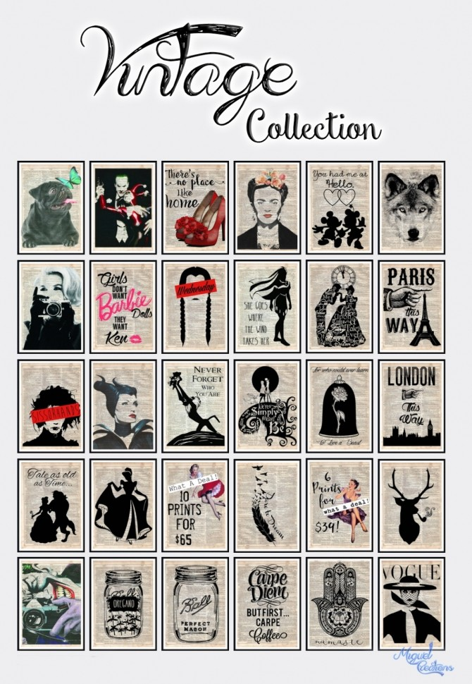 Sims 4 Vintage Collection at Victor Miguel