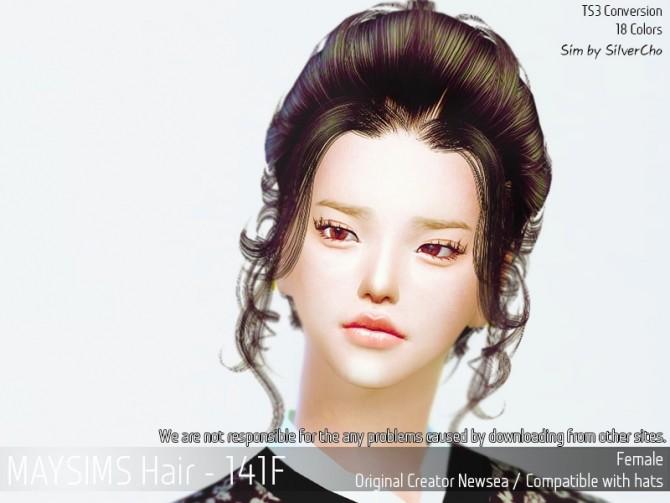 Hair 141F (Fixed) at May Sims image 15410 670x503 Sims 4 Updates