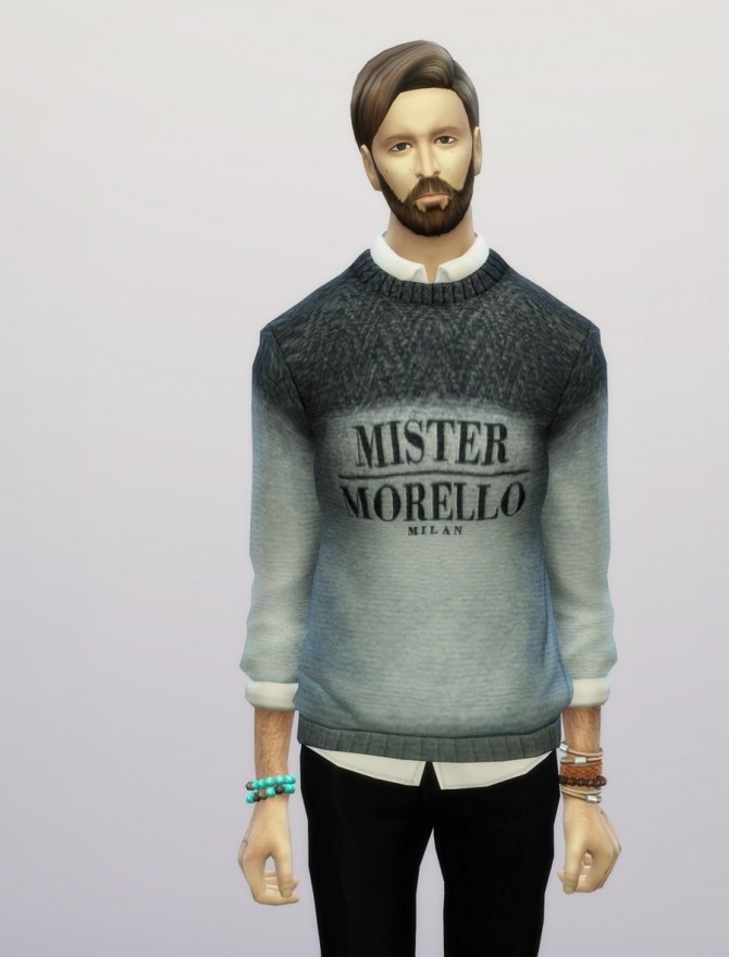 Sims 4 F.M. sweater FW 2015/16 at Rusty Nail