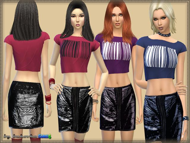 Sims 4 Set Casual at Bukovka