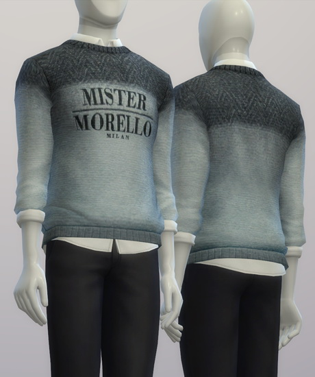 F.M. sweater FW 2015/16 at Rusty Nail image 1554 Sims 4 Updates