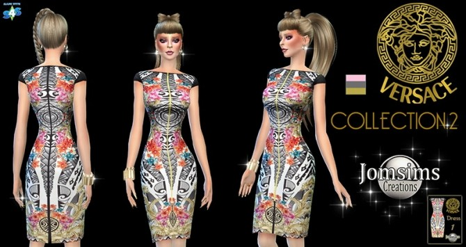 Sims 4 New dresses collection 2 at Jomsims Creations