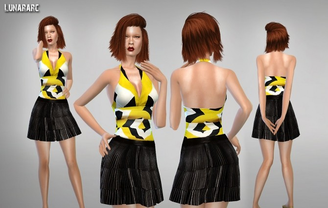 Sims 4 Mini Clothing Collection Part 2 at Lunararc