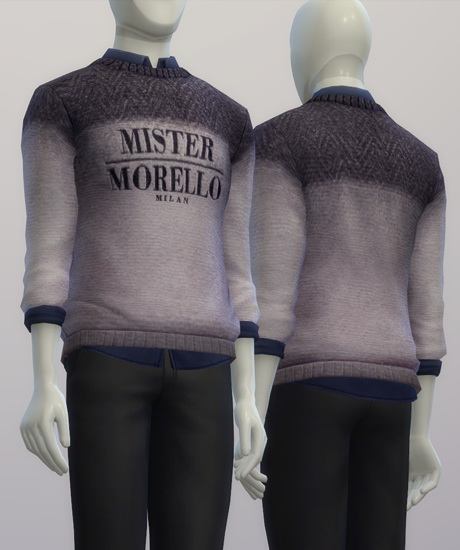 F.M. sweater FW 2015/16 at Rusty Nail image 1574 Sims 4 Updates
