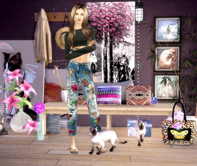 Sims 4 Calie at Oopsie's Sims