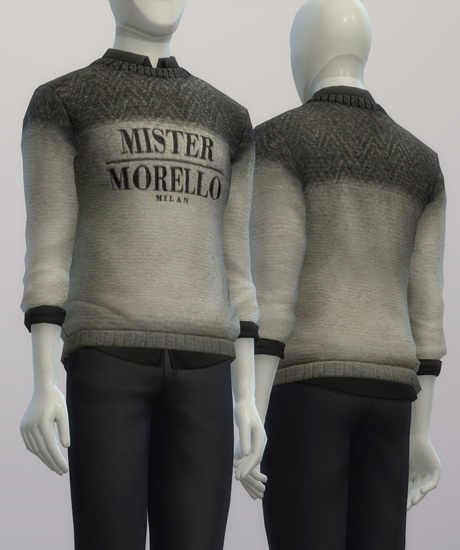 F.M. sweater FW 2015/16 at Rusty Nail image 1584 Sims 4 Updates