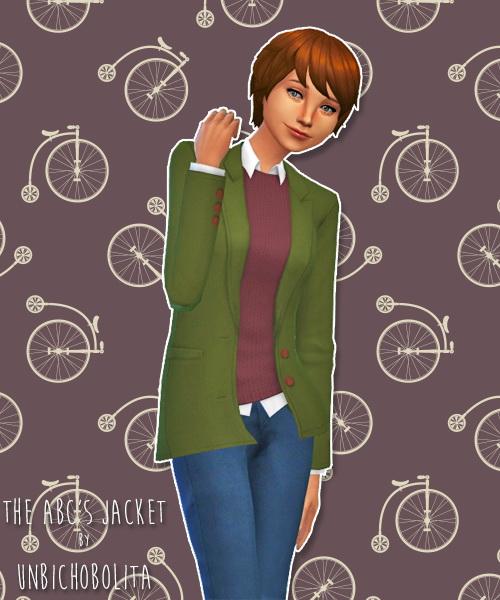 The ABCs jacket at Un bichobolita image 1608 Sims 4 Updates