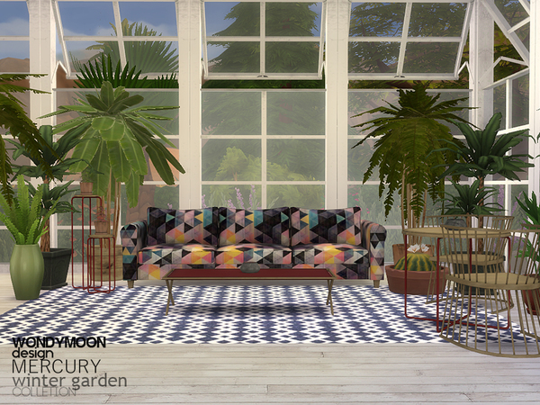 Mercury Winter Garden by wondymoon at TSR image 16101 Sims 4 Updates