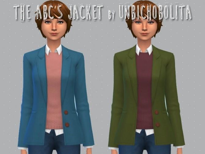 The ABCs jacket at Un bichobolita image 16112 670x503 Sims 4 Updates